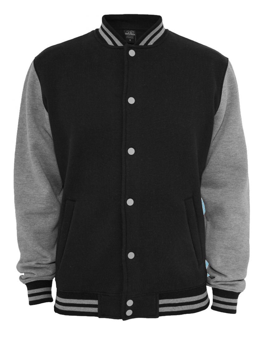 Just Hoods Varsity Sweat Jacke - College Jacke
