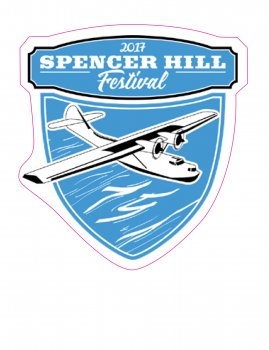 Spencerhill Festival Sticker 2017