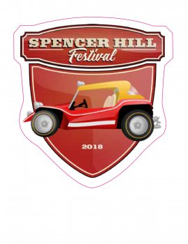 Spencerhill Festival Sticker 2018