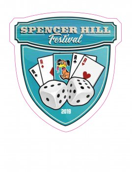 Spencerhill Festival Sticker 2019