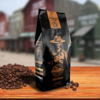 Terence Hill Kaffee Brown - 1000g ganze Bohne